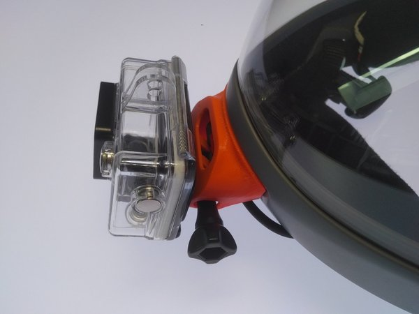 G3 Chinmount for GoPro 2-4 ... adjustable
