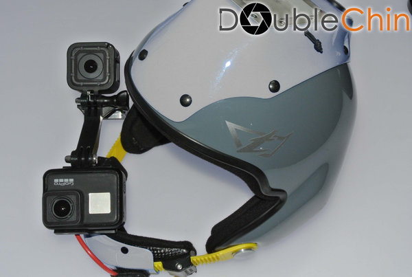 Tonfly X3 Double-Mount for GoPro 2-8 + Session 4/5